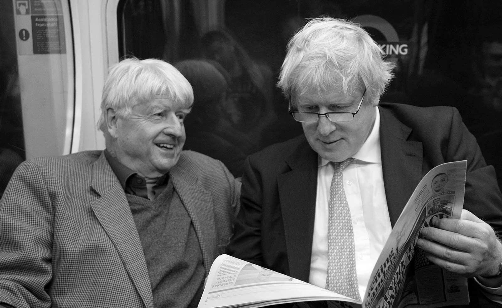 BORIS JOHNSON'S FATHER AND THE MI6 CONNECTION